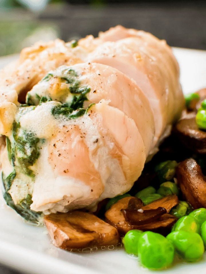 Healthy Dinner Recipes With Spinach Stuffed Chicken Breasts