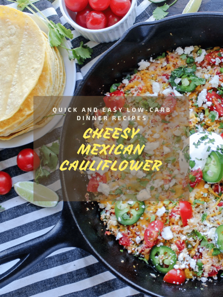 Low Carb Recipes Quick And Easy For Dinner