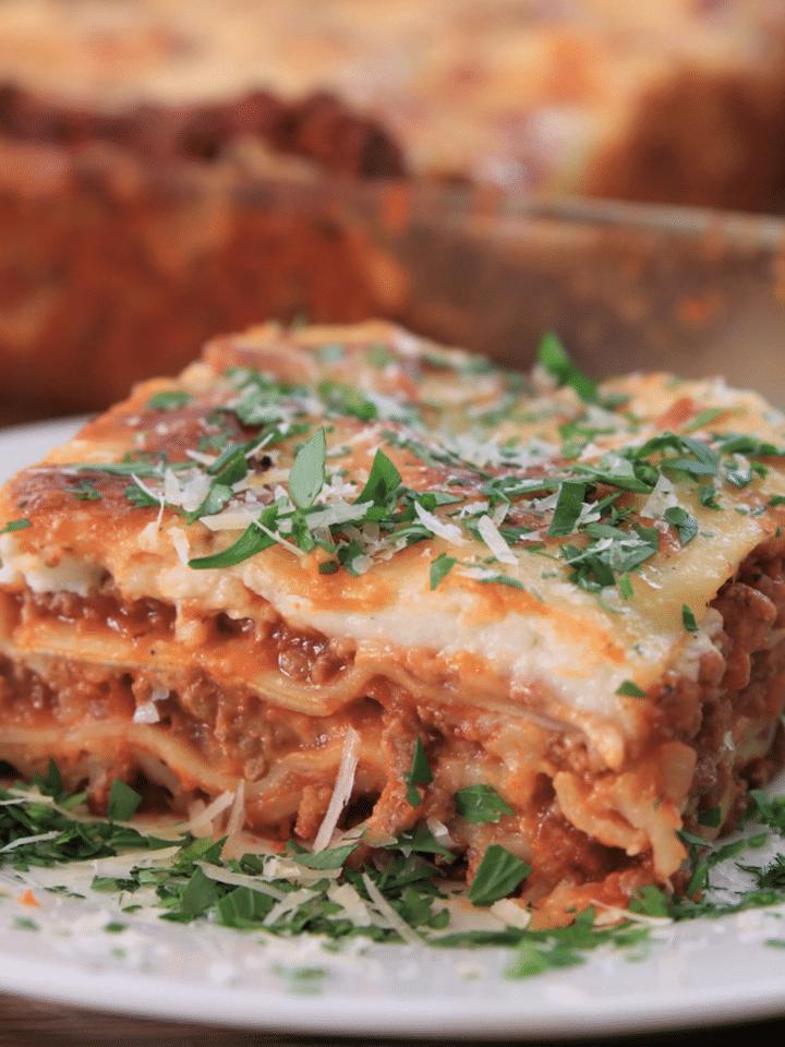 Homemade Recipes Italian Style Lasagna